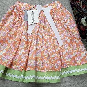 "NWT Matilda Jane ""Valencia"" Skirt Size 6"